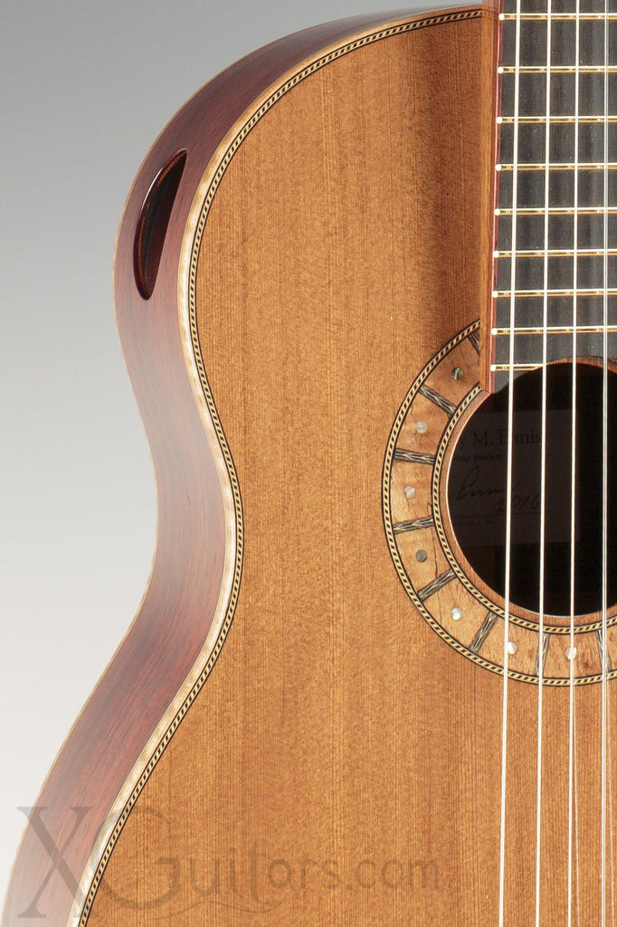 Tony Ennis Classical Guitar - Redwood Top