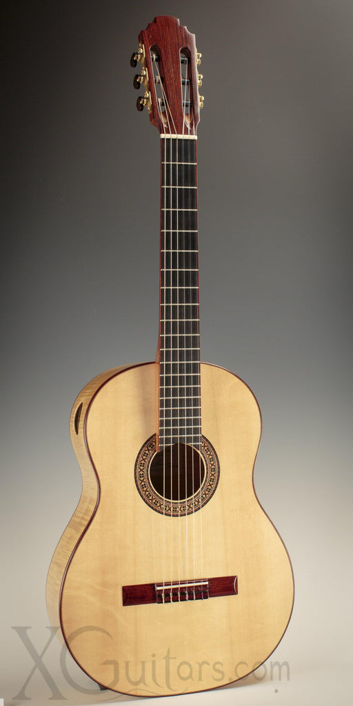 Tony Innis spruce top classical guitar front