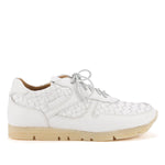 WOVEN SNEAKERS – White
