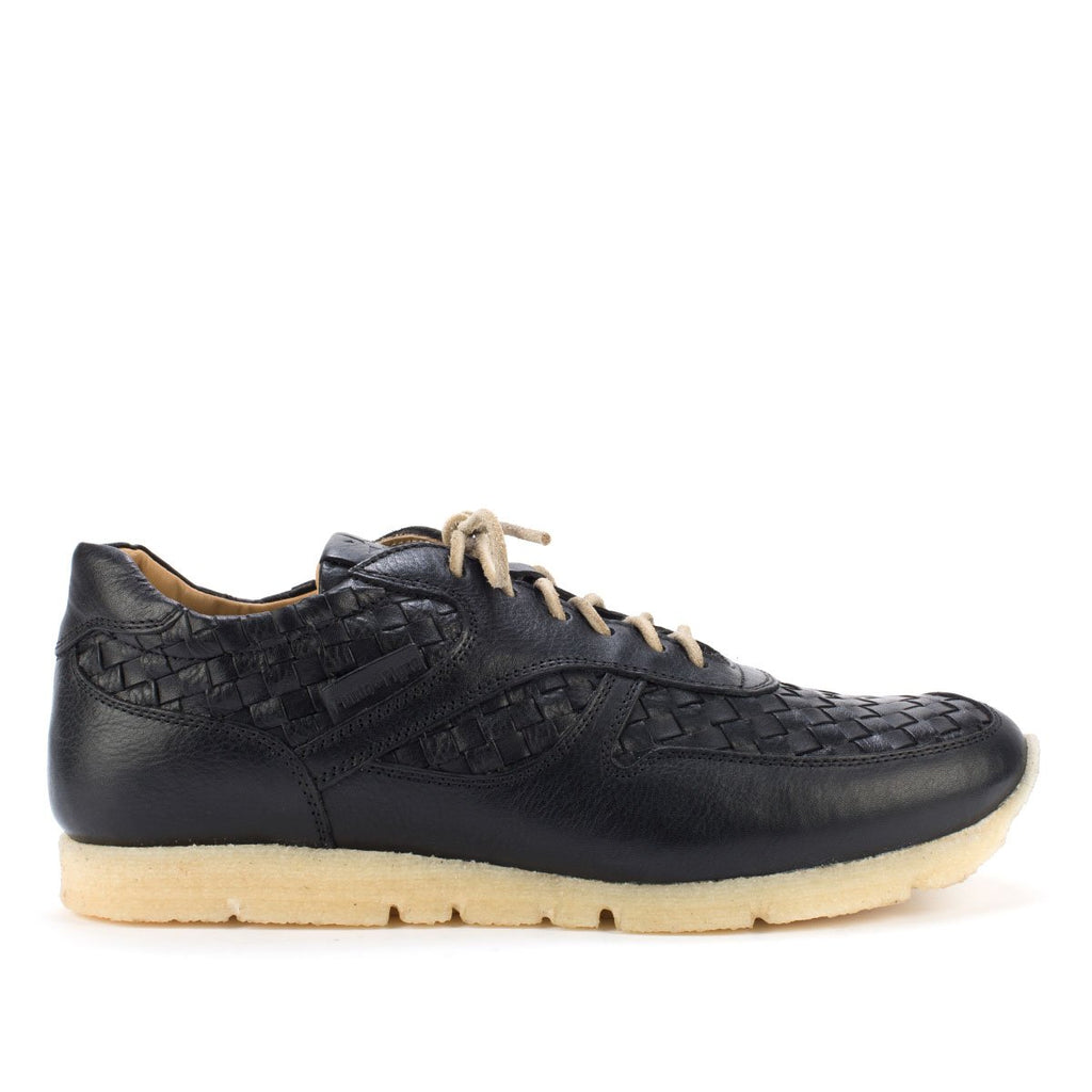 WOVEN SNEAKERS – Black
