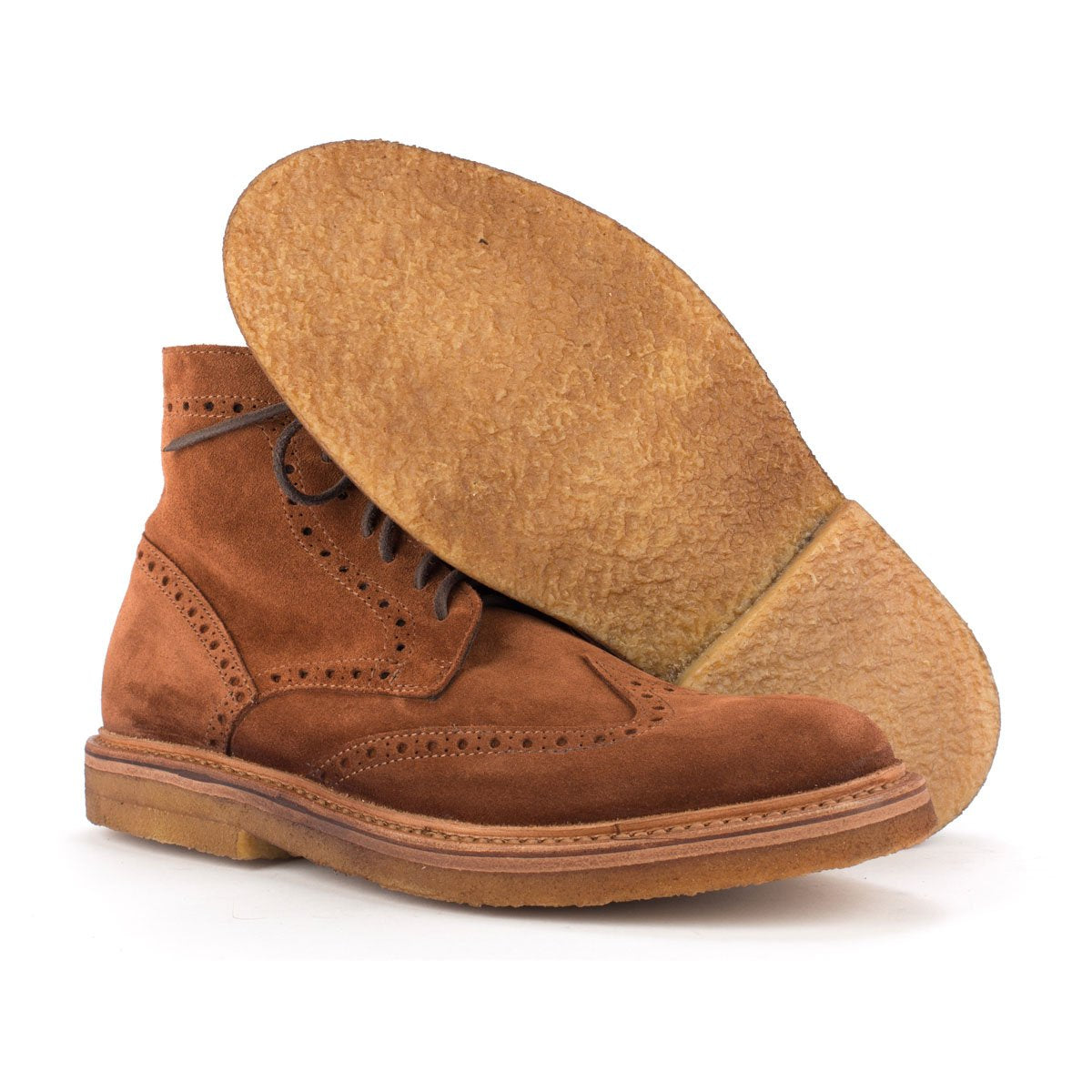 SCHOTT SUEDE – Brown