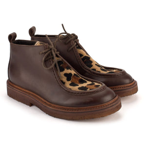 COLLEGE24 ANIMALIER PARABOOT – Coffe