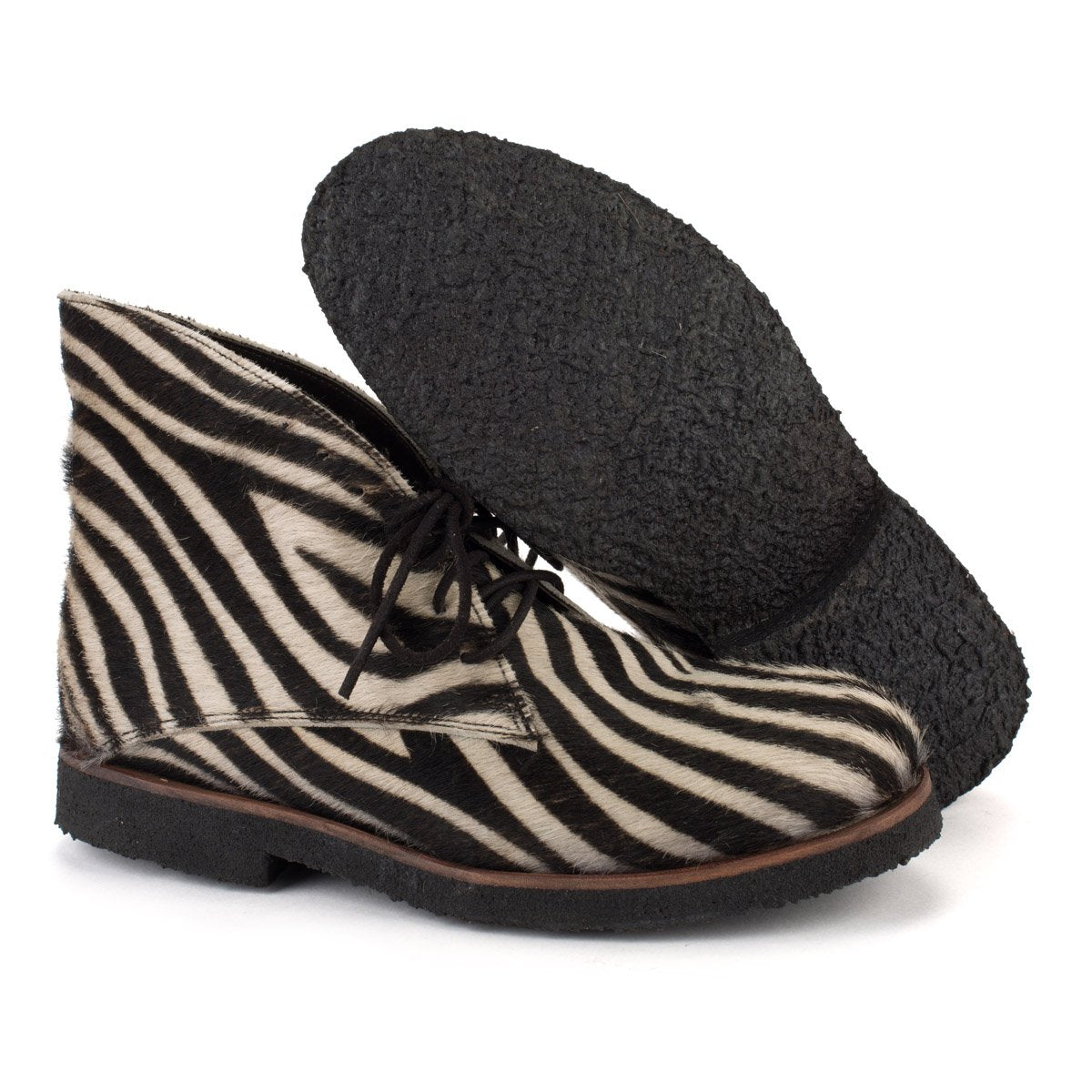 DRESS30 DESERT BOOTS – Zebra