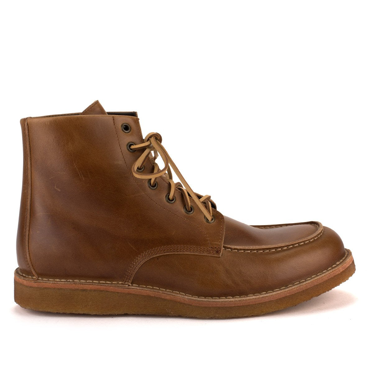 MR BRYAN ANKLE BOOTS – Caramel