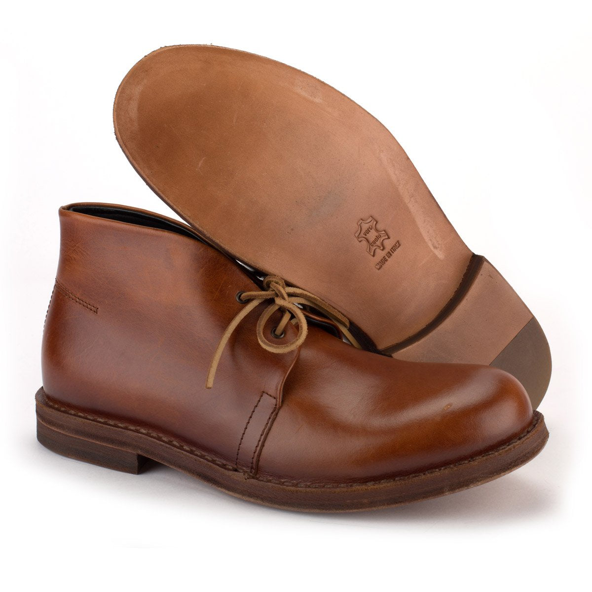 MR JOHN DESERT BOOTS – Tan
