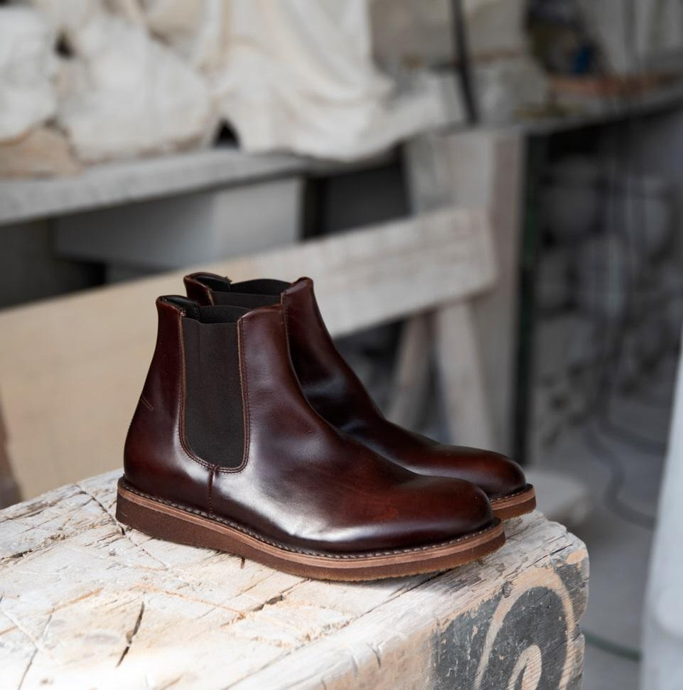 MR PARKER CHELSEA BOOTS – Coffe