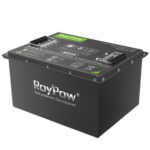 RoyPow lithium golf cart battery