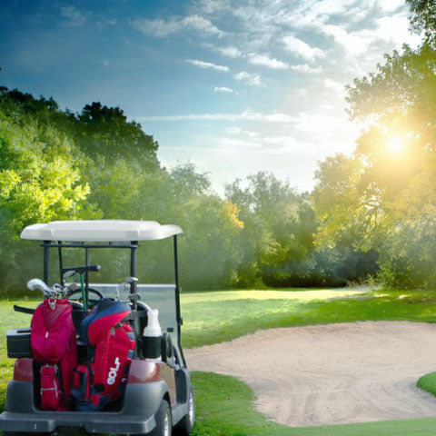 get outside golf cart golf course no rentals
