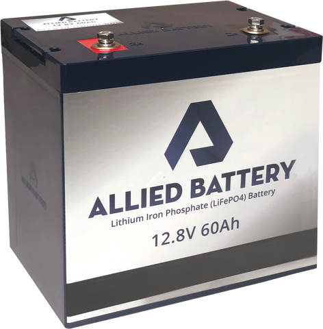 allied battery lithium iron phosphate 12.8 v