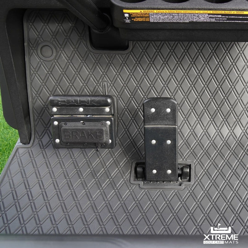 E-Z-GO Floor Mats - Fits TXT (1996+), EX1 (2020), Valor, Freedom & Express S4 (2012+)