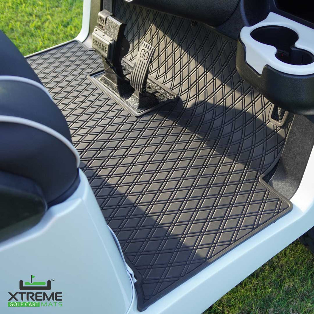 Golf Cart Floor Liner Mat - Fits Club Car Models Precedent (2004-2020)/Onward & Tempo (2017-2020)