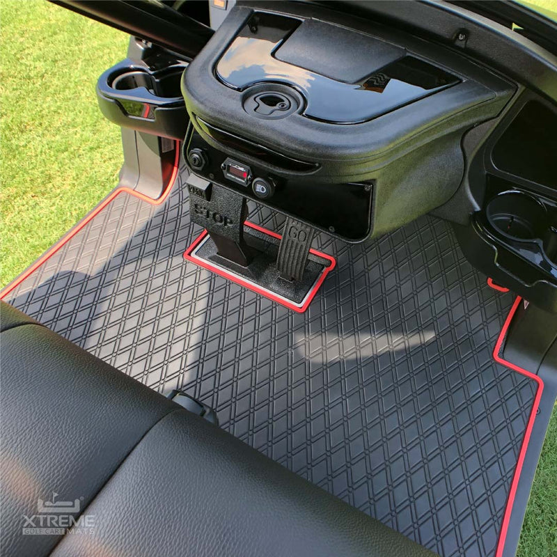 Xtremeauto/® Rubber Tailored Car Mats Caddy 2004