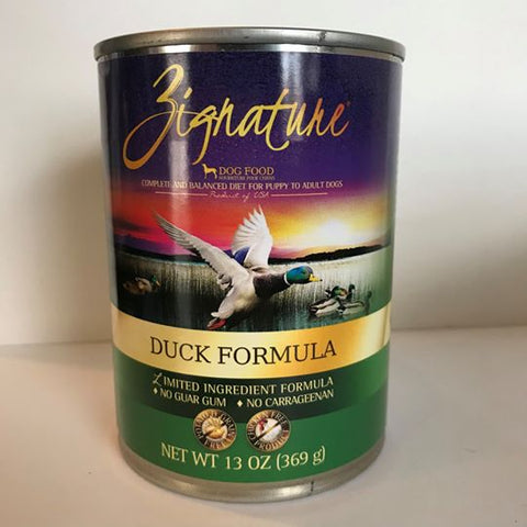 Zignature Duck Canned Food