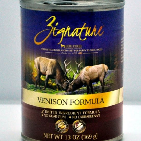 Zignature Venison Canned Dog Food