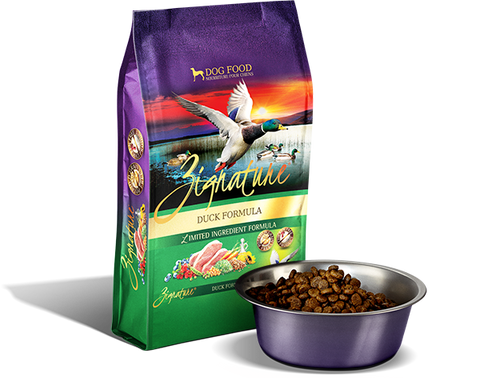 Zignature Duck Dry Dog Food Kibble