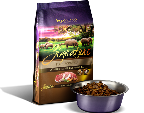 Zignature Pork Dog Food Kibble