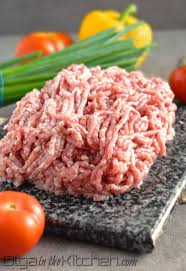 Ground Pork 5 lb w/Bone and Liver