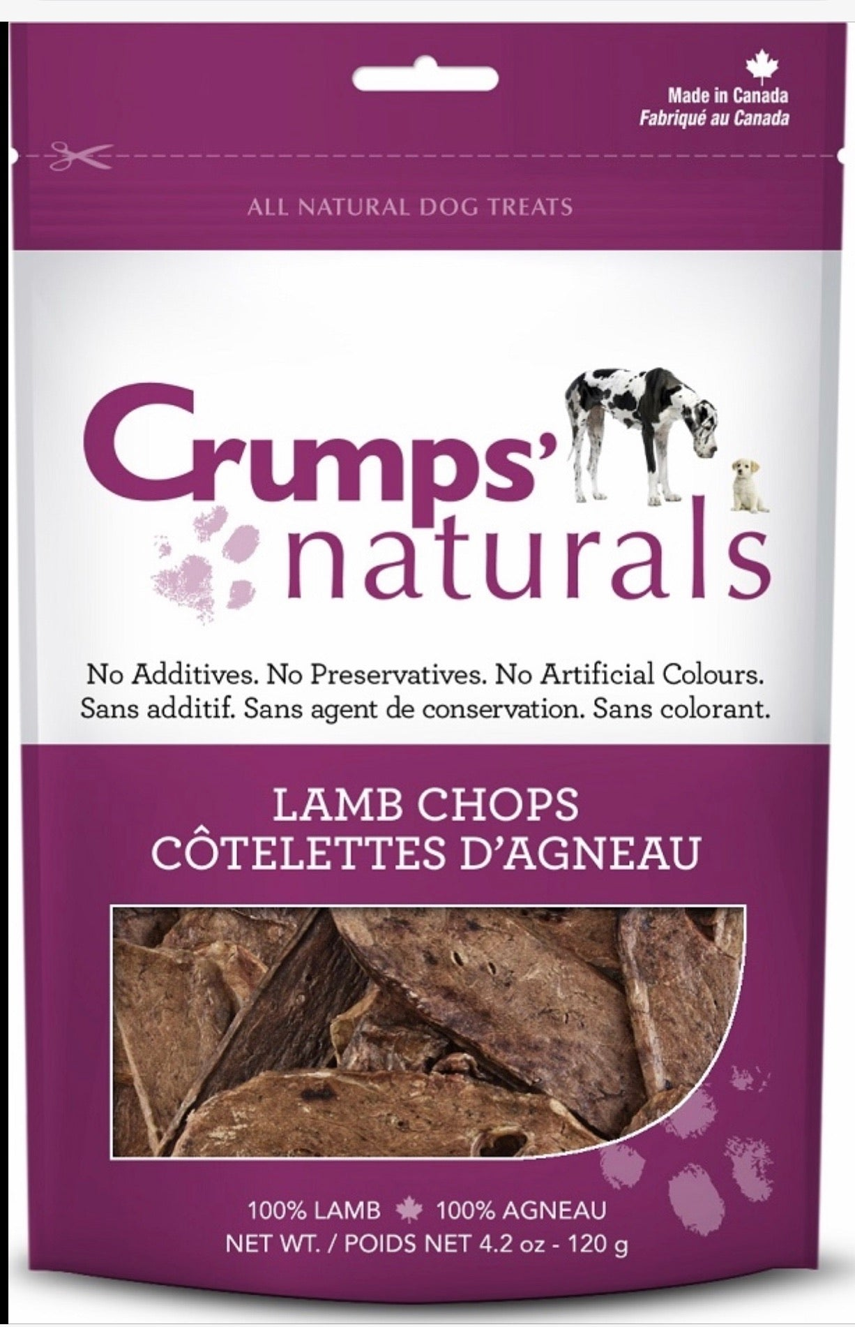Lamb Chops Crumps
