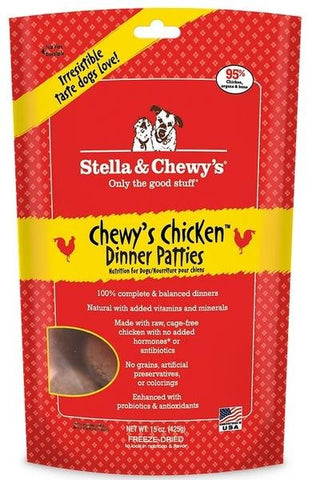 Stella & Chewy's Chicken Raw Patties