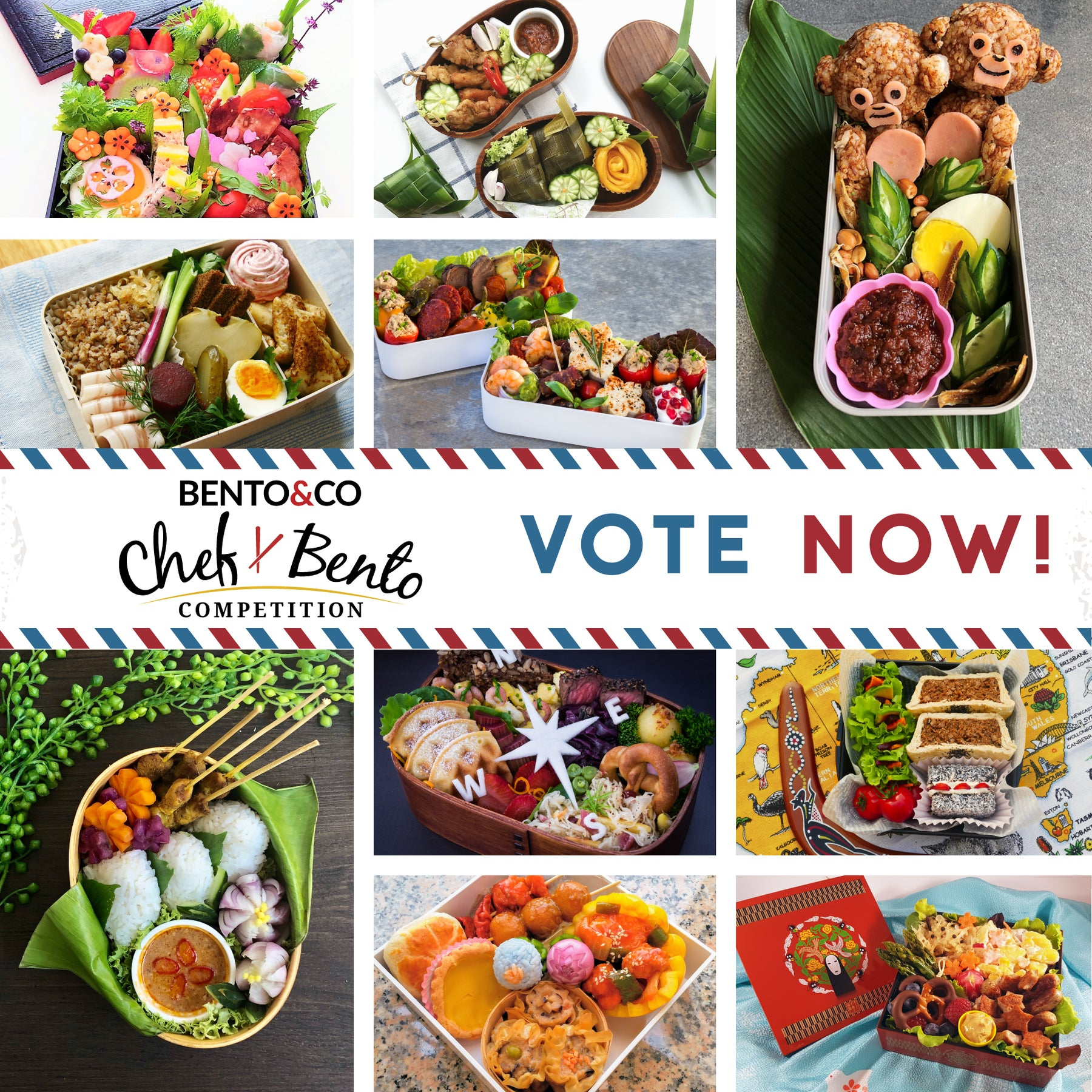 Chef Bento 2019 Grand Prize Winner + 10 Runner-up Finalists!