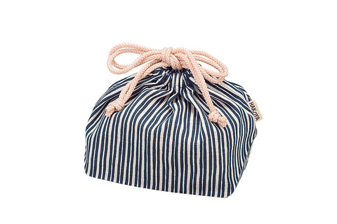 Tokusa Stripes Bag | Navy