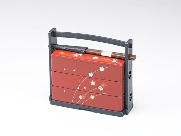 Usagi Carrying Bento | Red by Hakoya - Bento&co Japanese Bento Lunch Boxes and Kitchenware Specialists
