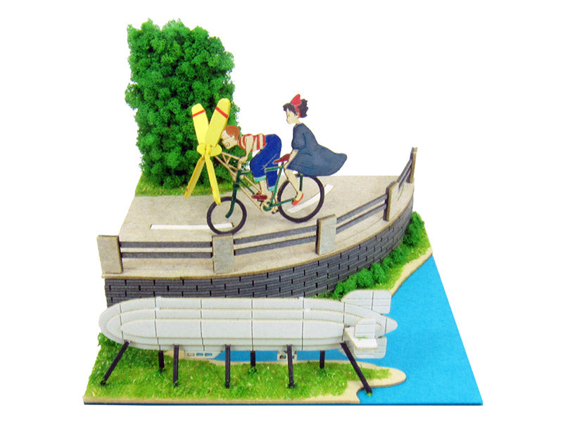 Miniatuart | Kiki's Delivery Service :  Tombo and the propelling bicycle by Sankei - Bento&con the Bento Boxes specialist from Kyoto