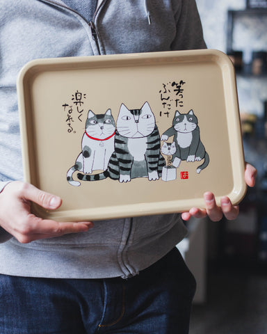 Okamoto Hajime Tray Rectangle by Miyamoto Sangyo - Bento&co Japanese Bento Lunch Boxes and Kitchenware Specialists