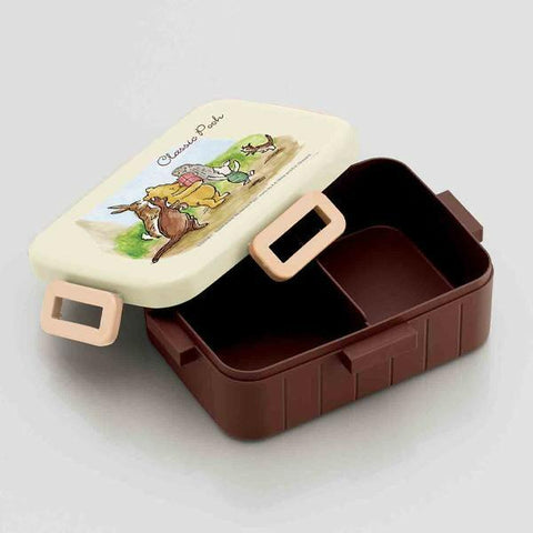Classic Pooh Side Lock Bento Box 650ml by Skater - Bento&con the Bento Boxes specialist from Kyoto