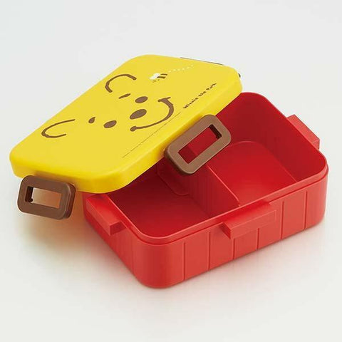 Winnie the Pooh Face Bento Box 650ml by Skater - Bento&co Japanese Bento Lunch Boxes and Kitchenware Specialists