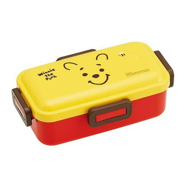 Winnie the Pooh Face Side Lock Bento Box 530ml by Skater - Bento&co Japanese Bento Lunch Boxes and Kitchenware Specialists