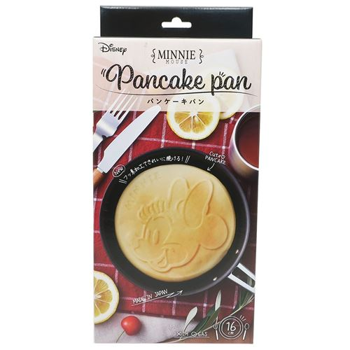 Pancake Pan | Minnie Mouse by Yaxell - Bento&co Japanese Bento Lunch Boxes and Kitchenware Specialists