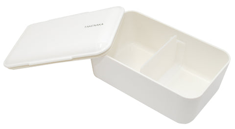 Expanded Bento Box | White by Takenaka - Bento&con the Bento Boxes specialist from Kyoto