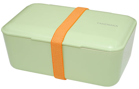 Expanded Bento Box | Pistachio Green by Takenaka - Bento&con the Bento Boxes specialist from Kyoto