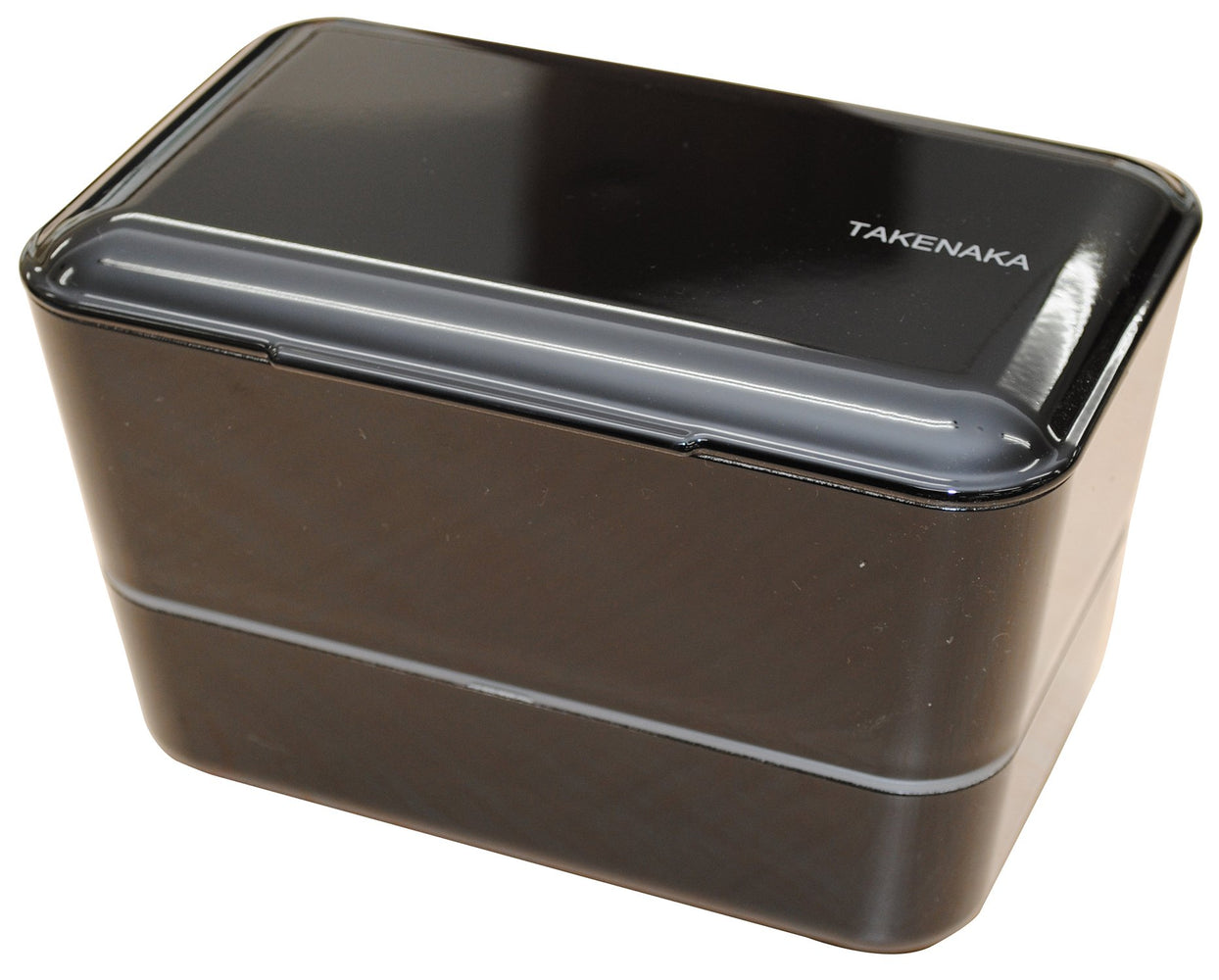 Expanded Double Bento Box | Black by Takenaka - Bento&con the Bento Boxes specialist from Kyoto