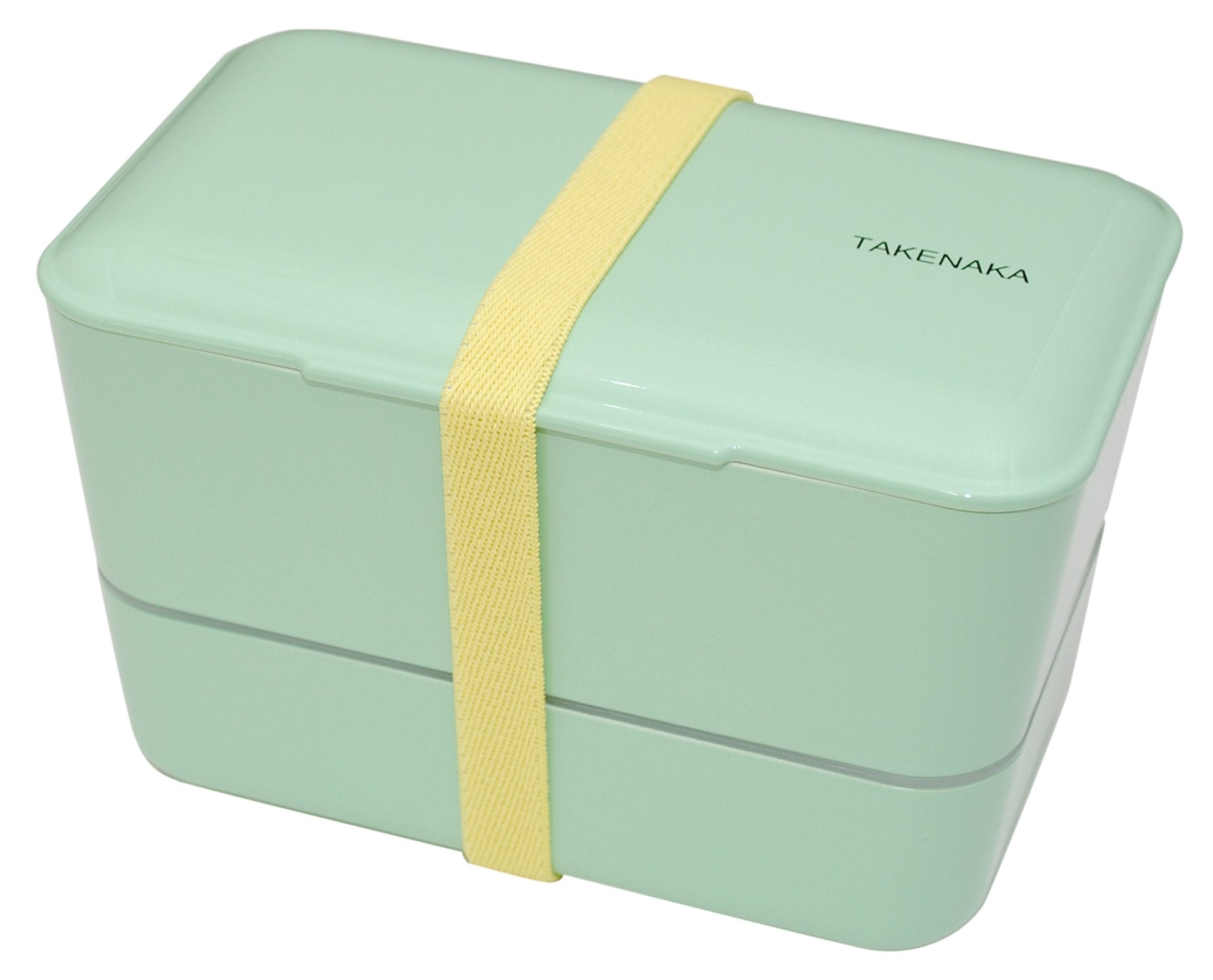 Expanded Double Bento Box | Peppermint by Takenaka - Bento&co Japanese Bento Lunch Boxes and Kitchenware Specialists