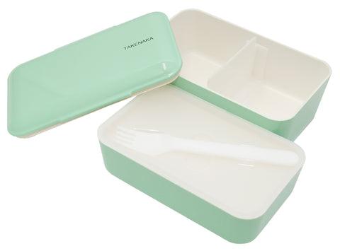 Expanded Double Bento Box | Peppermint by Takenaka - Bento&con the Bento Boxes specialist from Kyoto