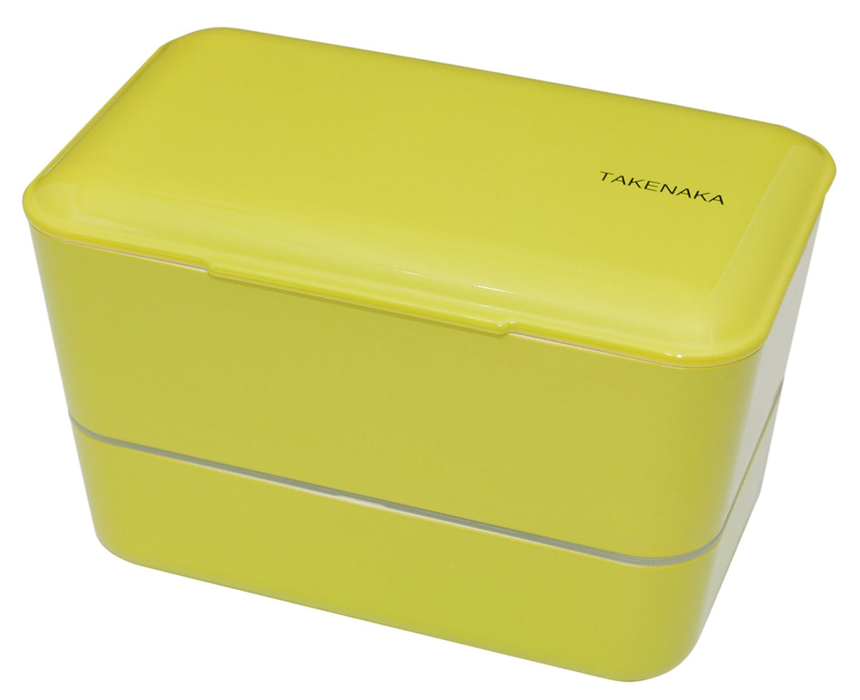 Expanded Double Bento Box | Green by Takenaka - Bento&con the Bento Boxes specialist from Kyoto