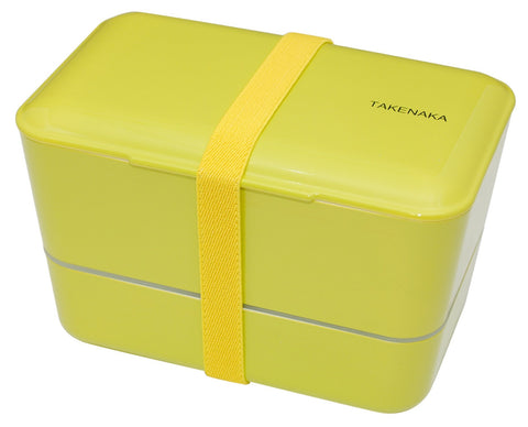 Expanded Double Bento Box | Green by Takenaka - Bento&co Japanese Bento Lunch Boxes and Kitchenware Specialists