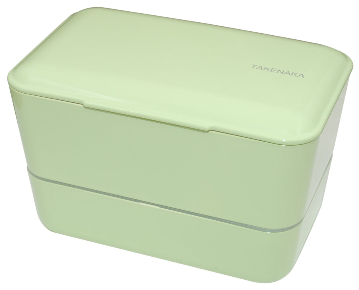 Expanded Double Bento Box | Pistachio Green by Takenaka - Bento&con the Bento Boxes specialist from Kyoto