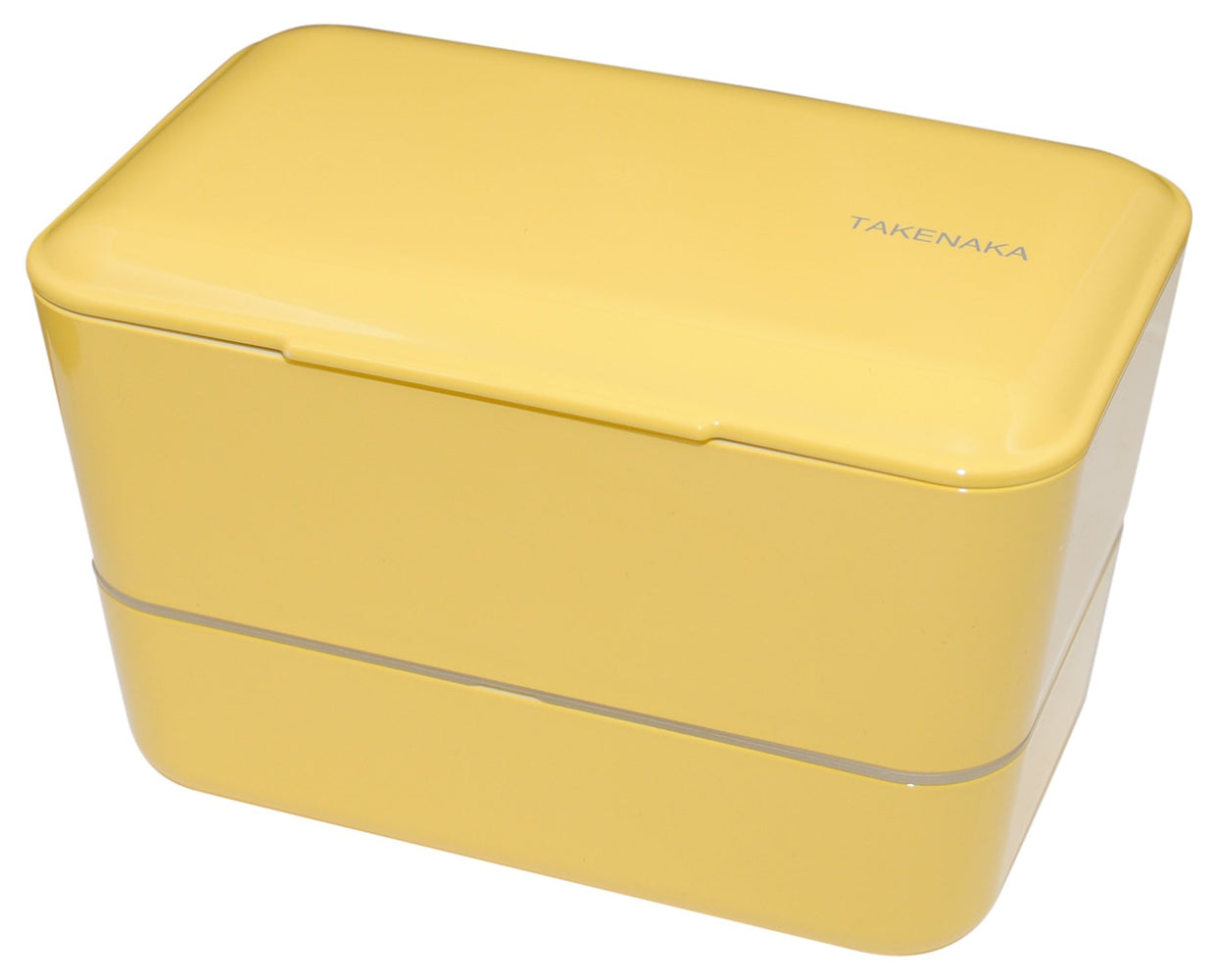 Expanded Double Bento Box | Lemon Zest by Takenaka - Bento&con the Bento Boxes specialist from Kyoto