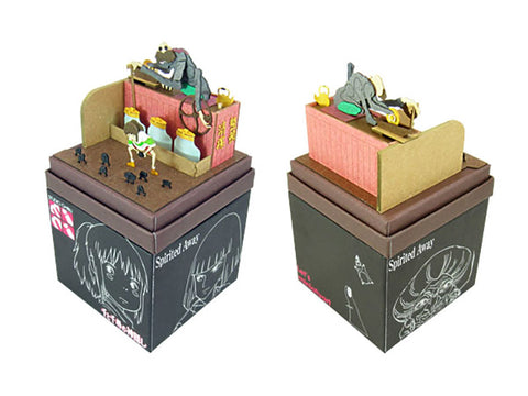 Miniatuart | Spirited Away: Kamaji and Chihiro by Sankei - Bento&co Japanese Bento Lunch Boxes and Kitchenware Specialists