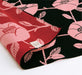 Double Sided Furoshiki Wrapping Cloth | Black & Red Tsubaki by Sanyo Shoji - Bento&co Japanese Bento Lunch Boxes and Kitchenware Specialists