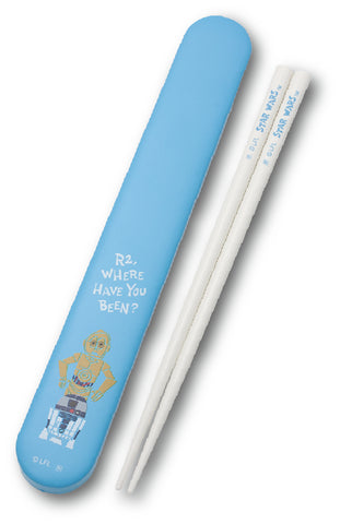 Cute Star Wars Chopsticks Set | R2-D2 and C3PO
