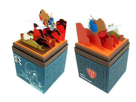 Miniatuart | Castle in the Sky : The rescue of Sheeta by Sankei - Bento&co Japanese Bento Lunch Boxes and Kitchenware Specialists