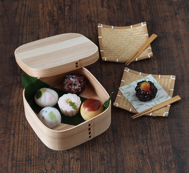 Cedar Magewappa | Square by Yamaki - Bento&co Japanese Bento Lunch Boxes and Kitchenware Specialists