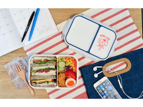 Rice Boy Bento Box | Blue by CB Japan - Bento&con the Bento Boxes specialist from Kyoto