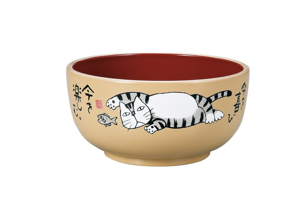 Okamoto Hajime Donburi Bowl 980mL Red by Miyamoto Sangyo - Bento&co Japanese Bento Lunch Boxes and Kitchenware Specialists