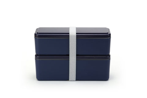 Gel-Cool Fit Slim Bento Box Small/Large | Berry Blue