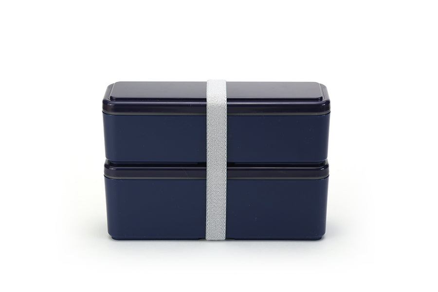 Gel-Cool Fit Slim Bento Box Small/Large | Berry Blue by Gel Cool - Bento&co Japanese Bento Lunch Boxes and Kitchenware Specialists